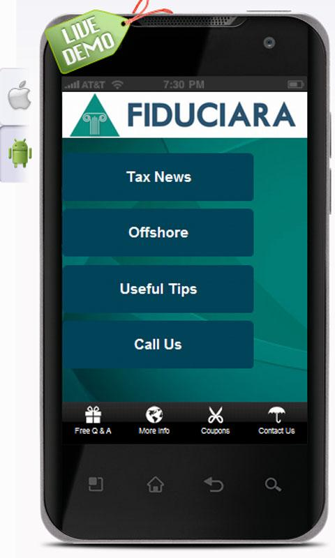 Fiduciara Offshore - screenshot