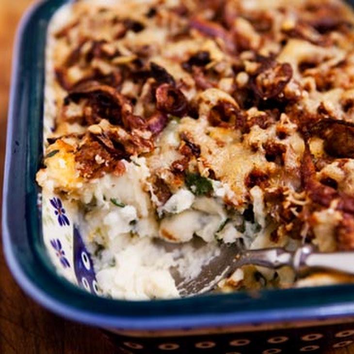 Potato Spinach Sausage Casserole Recipe
