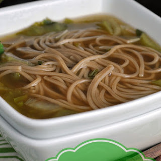 Quick and Easy Chinese Noodle Soup.