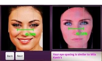Screenshot of Vanity MIrror- Beauty Analysis