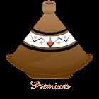 Cuisine marocaine premium icon