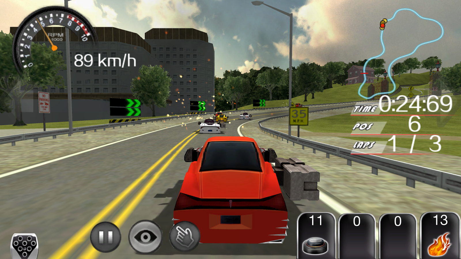 Car Racing Game Loading