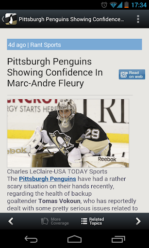 SportFusion - Penguins Edition