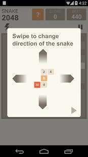 Snake 2048 screenshot