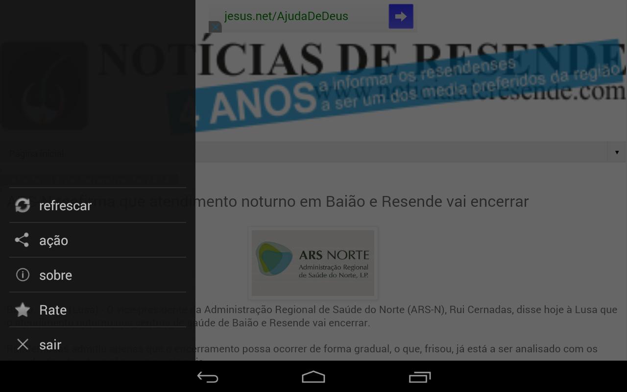 Notícias de Resende: News - screenshot