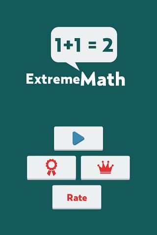Extreme Math - Fun Math Game