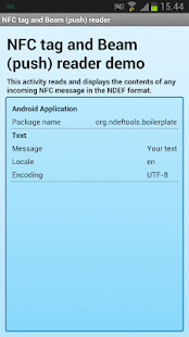 NDEF Tools for Android- screenshot thumbnail