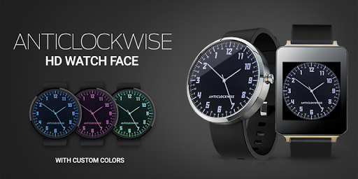 Anticlockwise HD Watch Face