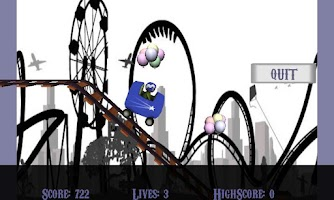 Screenshot of Stunt Rollercoaster