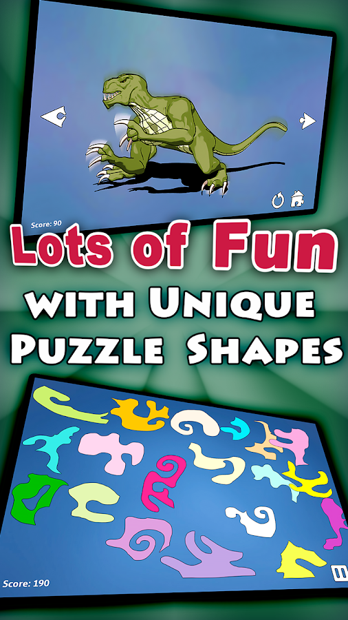 Shape Puzzles Pro - Assemble- screenshot