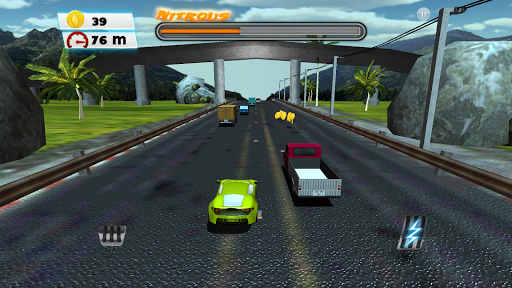 Race The Traffic 3D