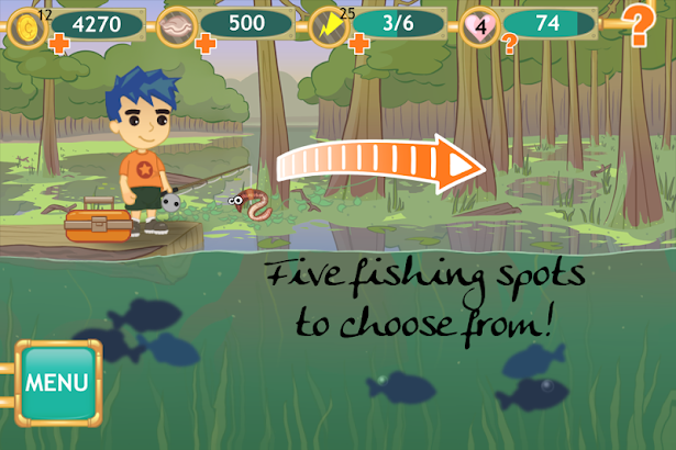 GOGO Fishing screenshot