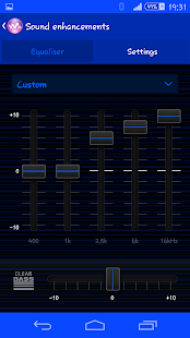 Blue Rays Theme By Arjun Arora - screenshot thumbnail