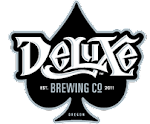 Logo for Deluxe Brewing Company