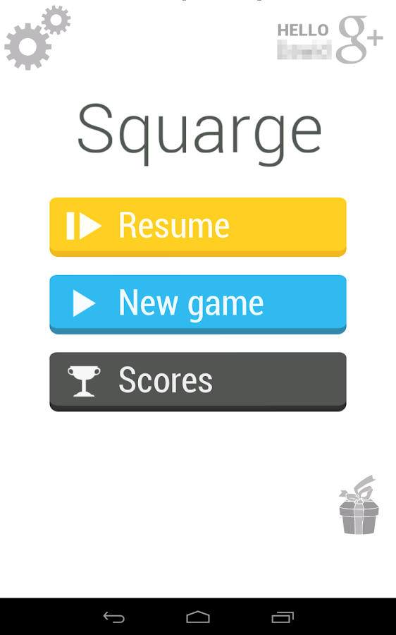 Squarge Free - screenshot