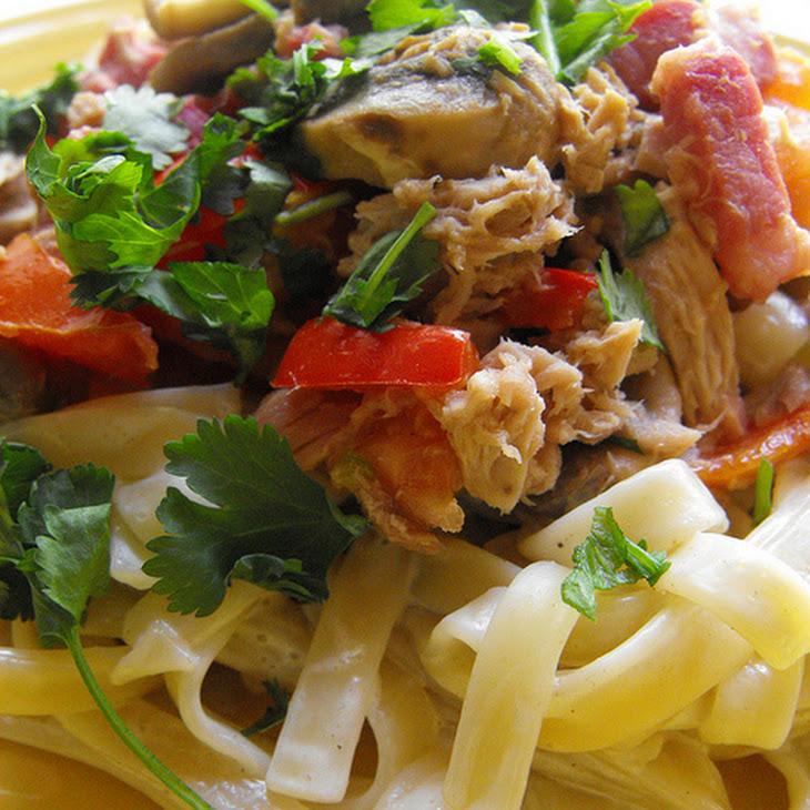 Tuna Fettuccine Recipe