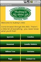 Screenshot of Audrey's Attic