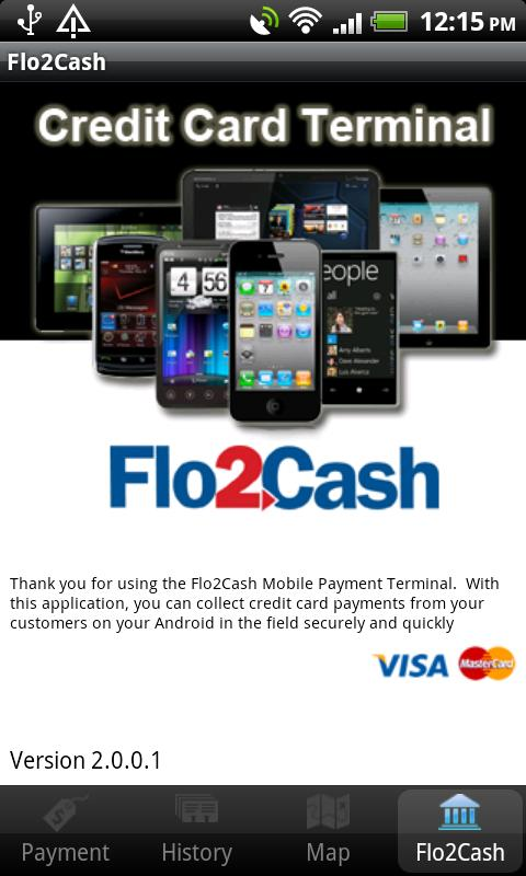 Flo2Cash Payment Terminal- screenshot