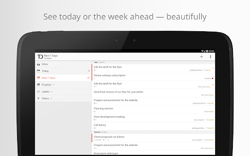 Todoist: To-Do List, Task List 3.0.9 APK Android