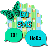 Butterflies4/GO SMS THEME