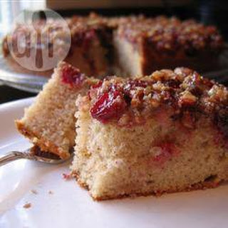 Cranberry Pecan Upside-down Cake