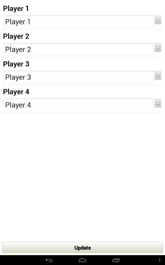 Score Keeper - screenshot