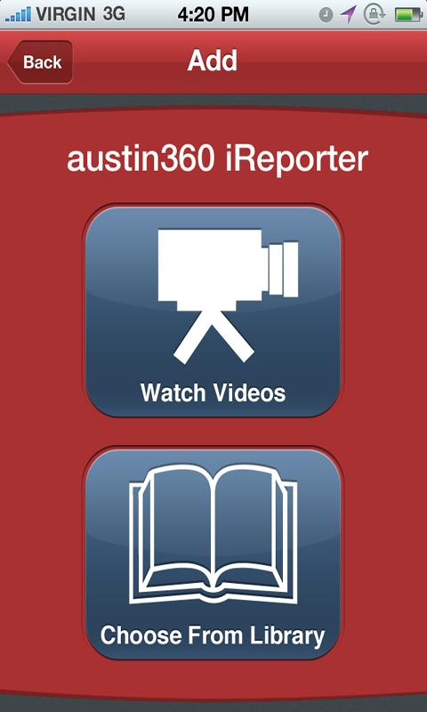 Statesman 360 iReporter - screenshot