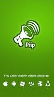 Screenshot of Piip Messenger