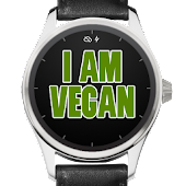 Vegan Wear Watch Face