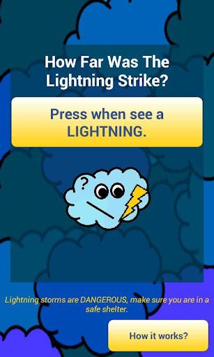 在閃電下跌?