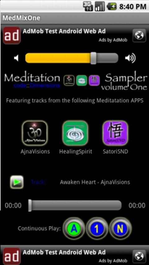 MedMixOne-MediaPackOne - screenshot