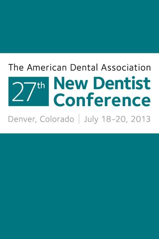ADA 27th New Dentist Con.