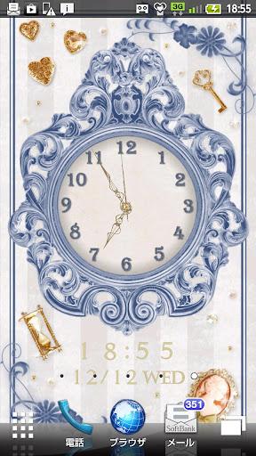 Elegant Antique Clock 時計付きライブ