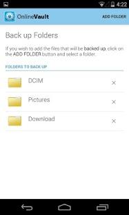 Online Vault - screenshot thumbnail