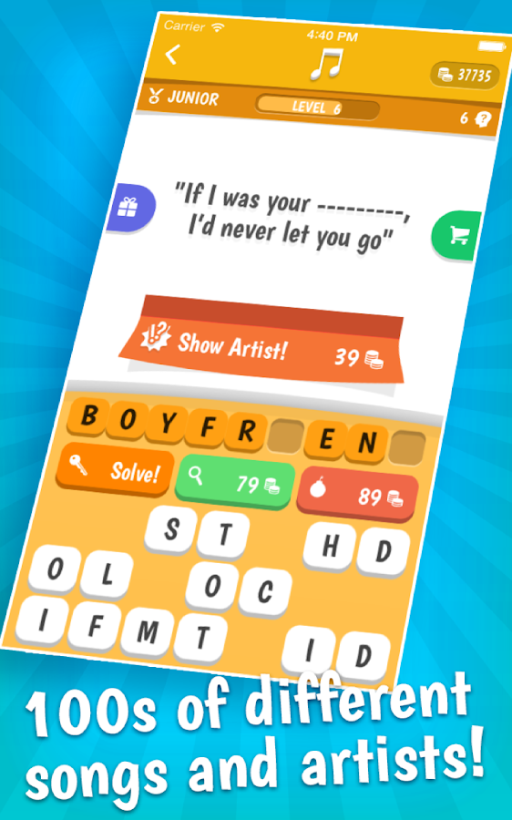 Song Quiz- screenshot