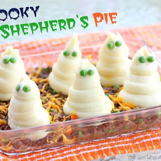 Spooky Shepherd's Pie.