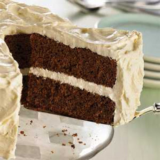 Gingerbread Cake with Creamy Gingerbread Frosting.