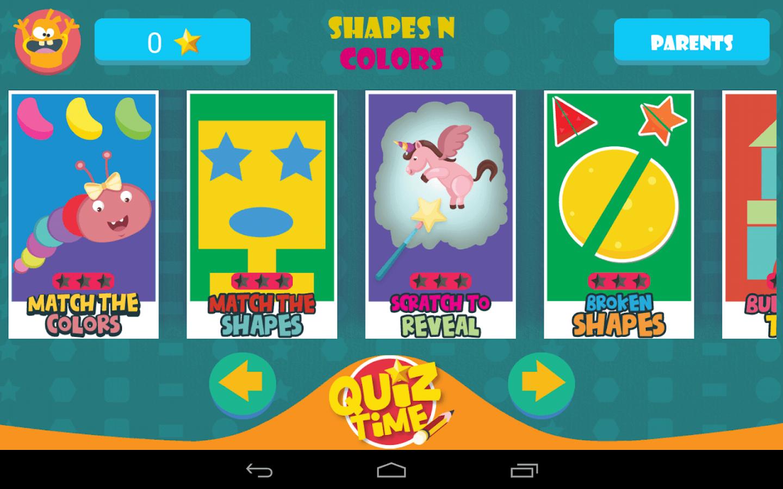 Kids Preschool Shapes & Colors - screenshot