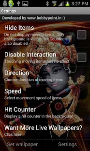 KRISHNA HQ Live Wallpaper - screenshot thumbnail