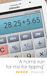 Calculator Plus - screenshot thumbnail