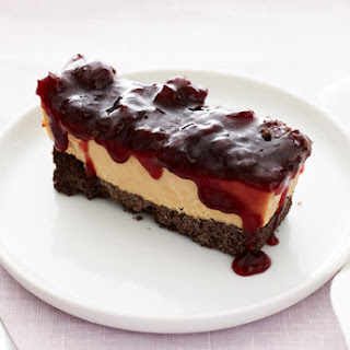 Peanut Butter and Jelly Slice.