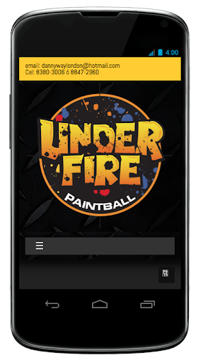 Under Fire Paintball