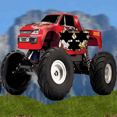 Up Hill Climb Truck Racing