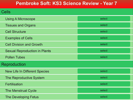 KS3 Science Review - Year 7