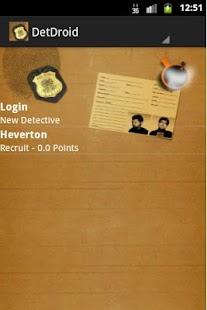DetDroid - Detective - screenshot thumbnail