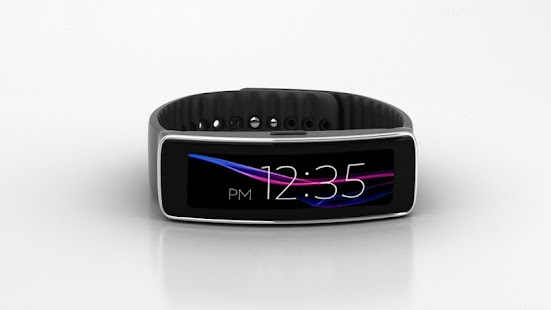 Xperia Clock Pro For Gear Fit