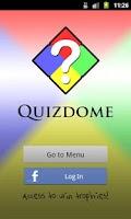 Screenshot of Quizdome