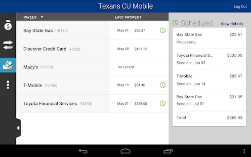 Texans CU Mobile - screenshot thumbnail