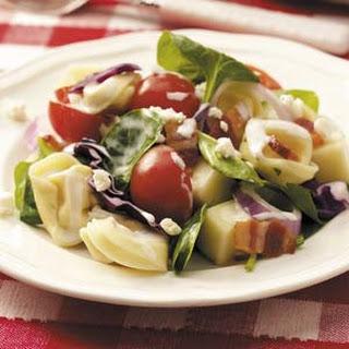 Layered Tortellini Salad