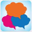 推推聊天室 logo